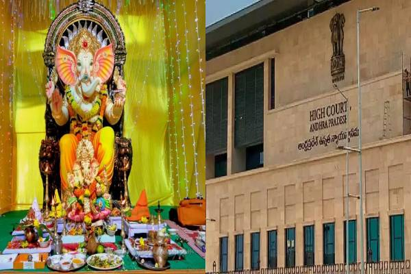 AP High Court supports curbs on Ganesh pandals in public places