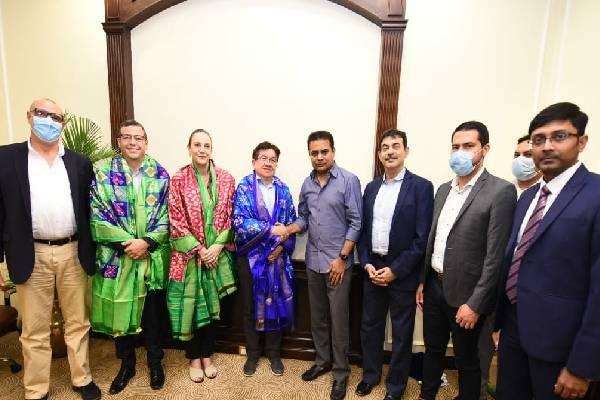 Columbian delegation visits Hyderabad's Genome Valley