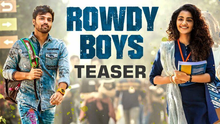 Rowdy Boys Teaser :  High On Energy