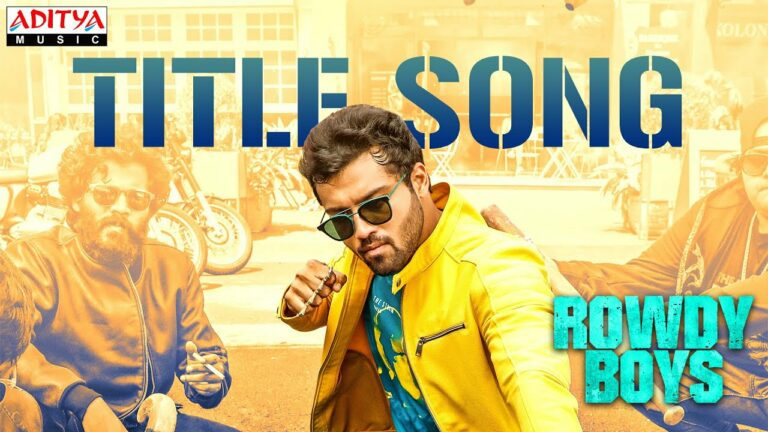 Youthful song from Rowdy Boys unveiled