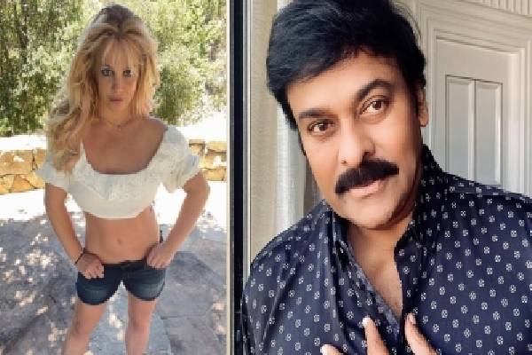 Britney Spears to croon for Chiranjeevi's 'Godfather'?