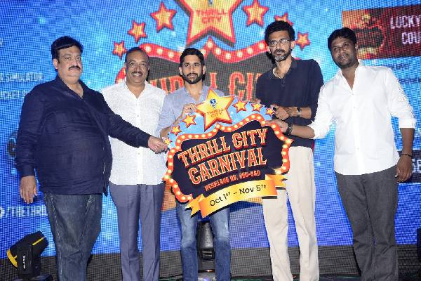 LOVE STORY Magical success celebrations at Thrill City
