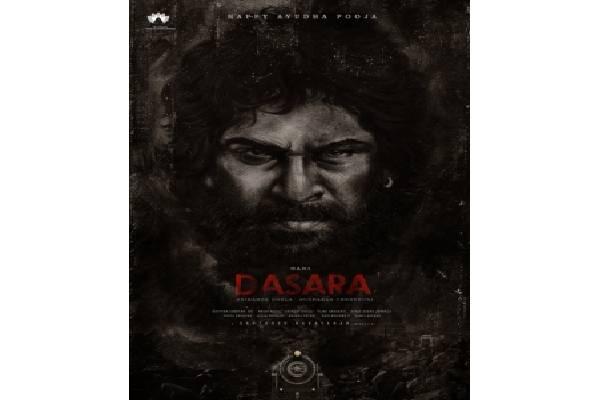 Nani's rustic look from upcoming movie 'Dasara' grabs eyeballs