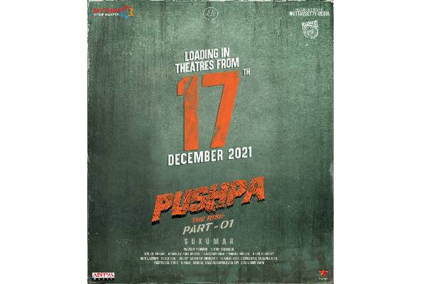 Pushpa: The Rise Locks The Release Date