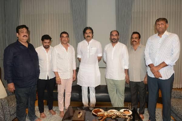 Tollywood producers' crucial meeting with Pawan Kalyan