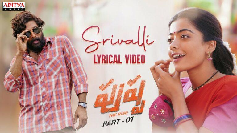 Srivalli from Pushpa: Soulful Melody